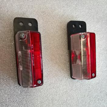 Clearance light side marker light demountable container Mitsubishi Fuso Canter set 2 pc